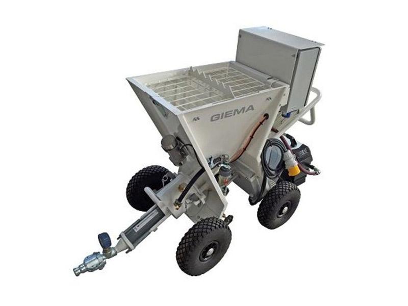 Gâcheur projeteur TP20 à moteur électrique de Lancy - Batiweb
