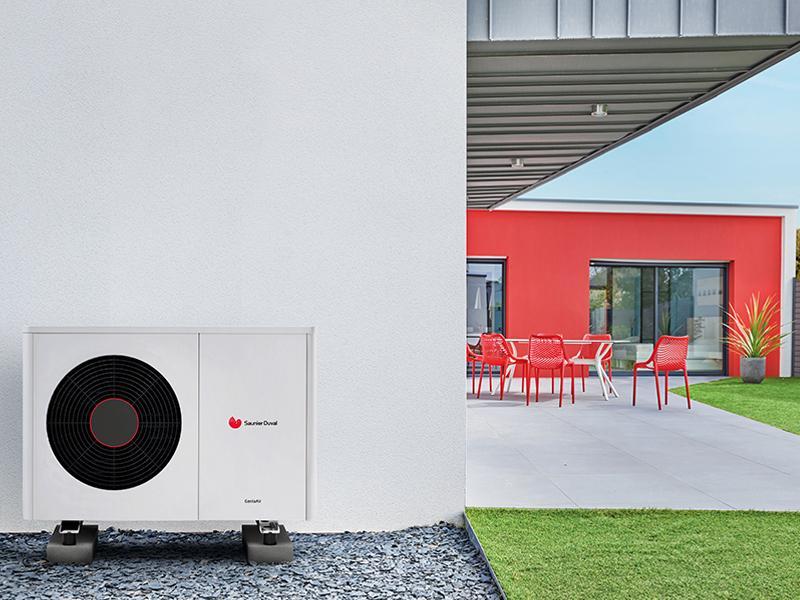 Pompes à chaleur air / eau monobloc haute température GeniaAir Max et GeniaSet Max - Batiweb