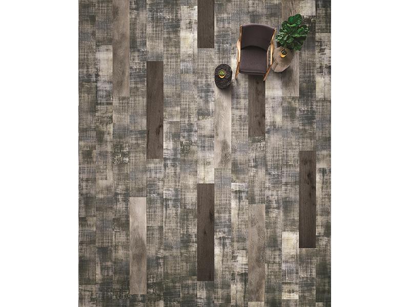 Change Agent : collection de tapis et de sols LVT par Milliken - Batiweb