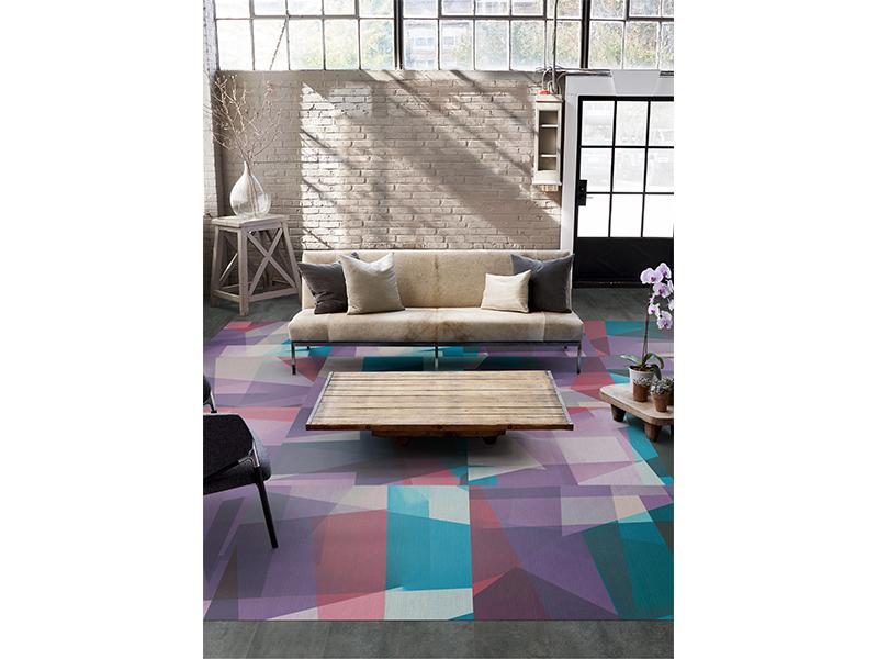Edge Lit : nouvelle collection audacieuse de dalles de moquette et de planches par Milliken - Batiweb