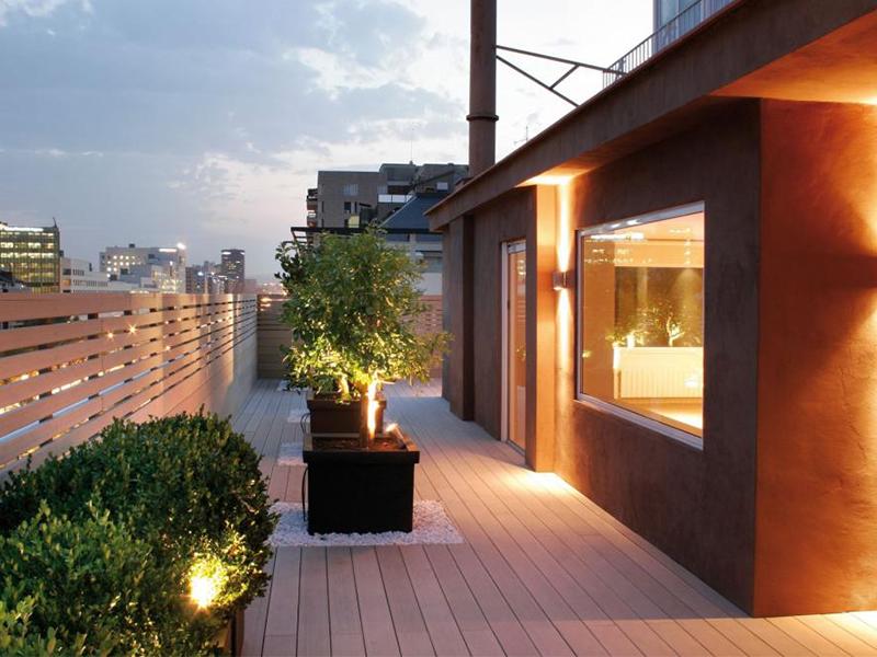 Lame de terrasse Élégance lisse monoextrudée - Batiweb