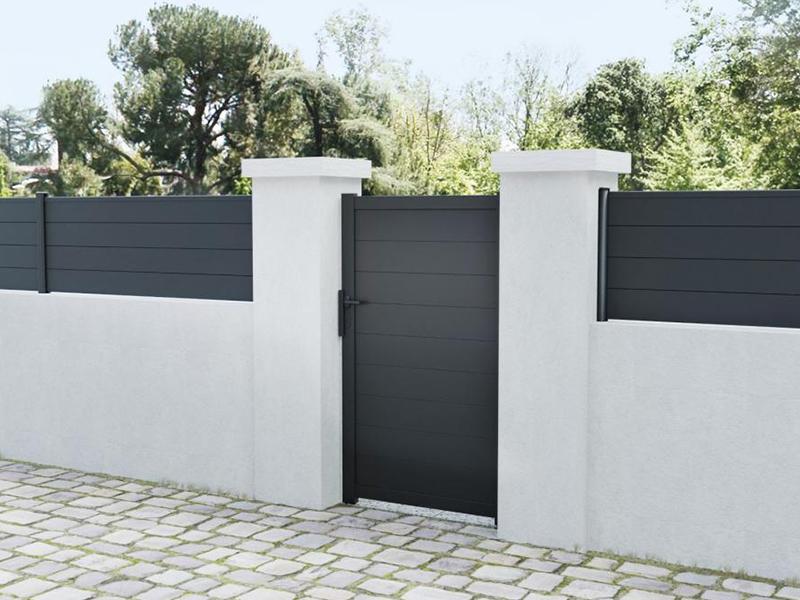 Portillon Aluminium - Batiweb