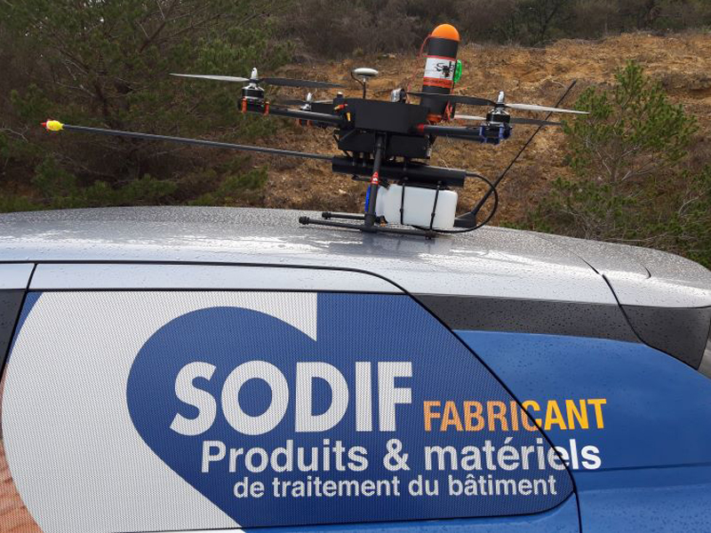 DRONE ARES BTP - Batiweb