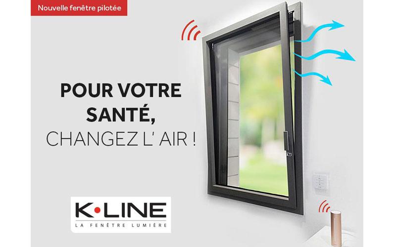 Nouvelle fenêtre pilotée K•LINE - Batiweb