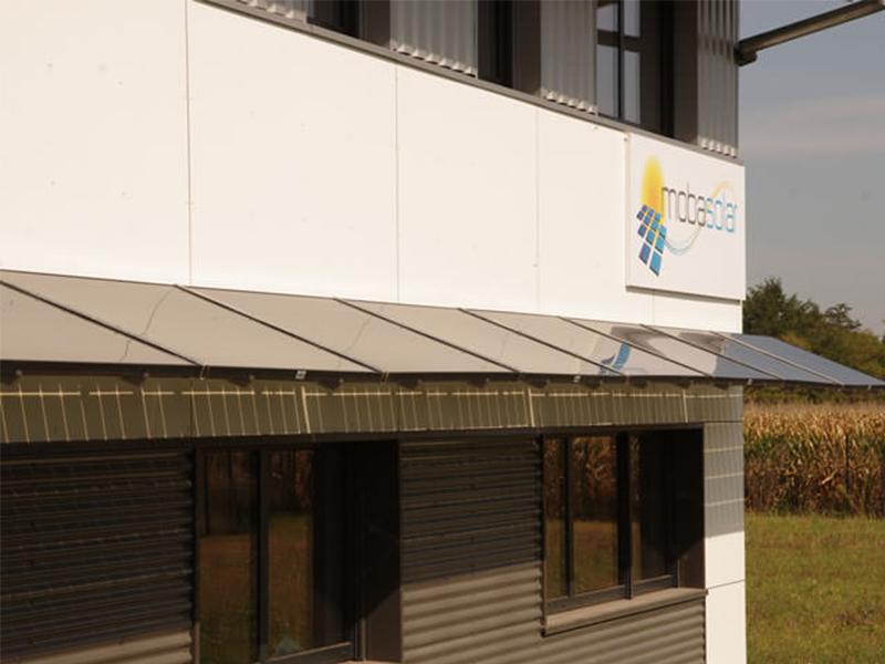 Mobafix™ BS : Le brise-soleil photovoltaïque - Batiweb