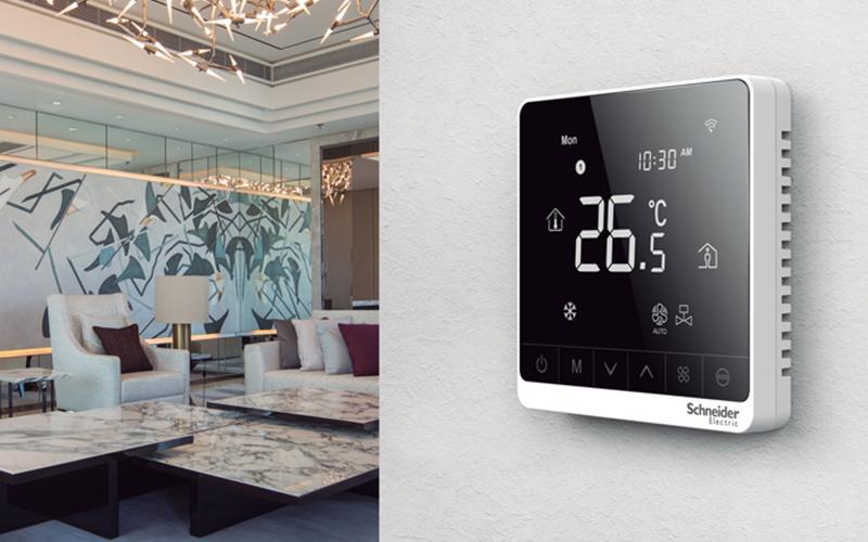TC900 : thermostat digital pour contrôler les ventilo-convecteurs - Batiweb
