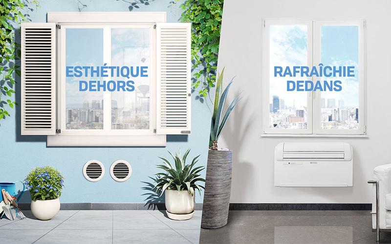 UNICO TWIN : climatiseur sans unité extérieure - Batiweb