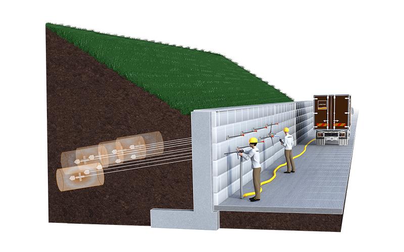 MICROANCHORS : stabilisation & ancrage d'ouvrages contre terre - Batiweb