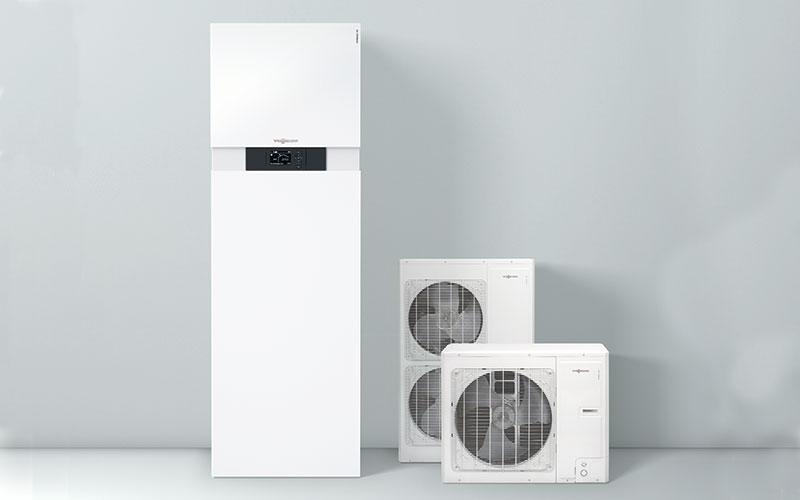Vitocal 111-S : pompe à chaleur compacte split air/eau - Batiweb
