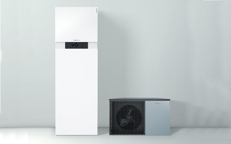 Vitocal 222-S : pompe à chaleur compacte split air/eau - Batiweb