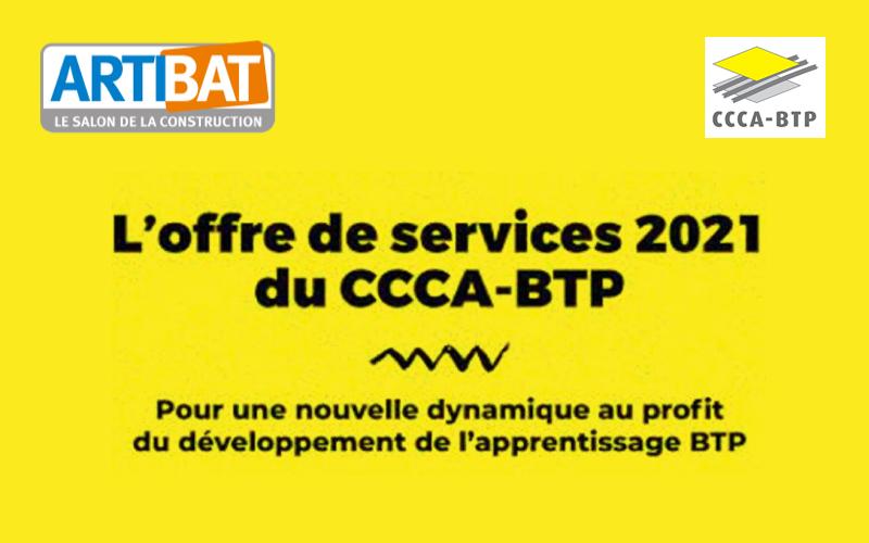 CCCA-BTP : Venez nous rencontrer sur Artibat stand 5-E11 - Batiweb