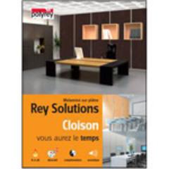 Rey Solutions de Polyrey, le premier et unique mélaminé sur plâtre 100 % déco, 100 % bien-être - Batiweb