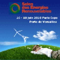 8e Salon des énergies renouvelables, 16-18 juin 2010 à Paris! en collaboration avec l'ADEME et le Syndicat des énergies renouvelables - Batiweb