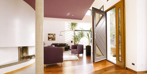 La couleur : le détail qui personnalise votre porte d'entrée avec Bel'm !
