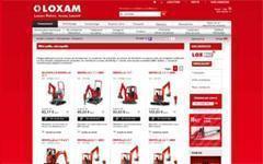Loxam retisse sa toile sur www.loxam.fr