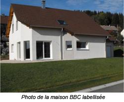 La première maison BBC labellisée en blocs béton du Haut-Doubs – Pays Horloger Batiweb