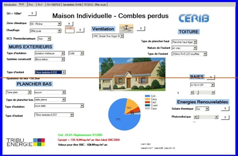 BBClic®, l'outil de calcul gratuit qui permet de simuler la performance énergétique d'une maison - Batiweb