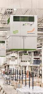 Les Solutions Purification d'air FLIMMER E6000 Zehnder Clean Air Solutions Batiweb