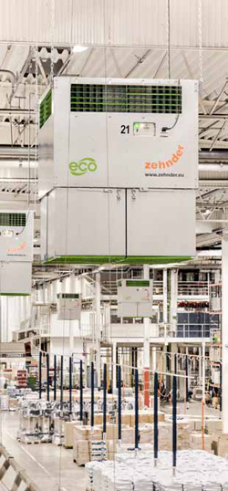 Les Solutions Purification d'air FLIMMER E6000 Zehnder Clean Air Solutions