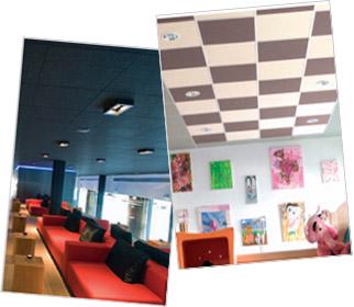 Rockfon Color-all, une gamme couleur de plafonds acoustiques qui s'inscrit dans les tendances architecturales du moment - Batiweb