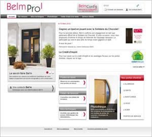 Bel'm vous facilite la vie et lance son site Bel'm Pro - Batiweb
