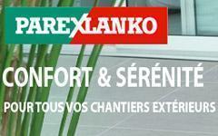 La  Solution terrasse de PAREXLANKO pour un aménagement extérieur impeccable. - Batiweb