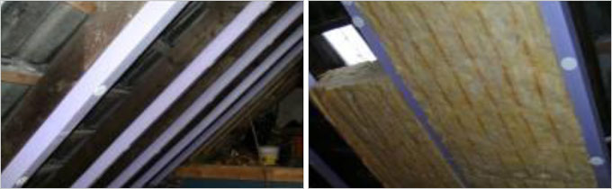Isolation des ponts thermiques : Nouvelles bandes d'isolation pour chevrons de toiture - Batiweb