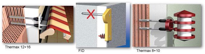 Toute une gamme de fixations pour l'Isolation Thermique par l'Extérieur (ITE). - Batiweb