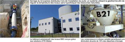 Nouveau site de production Weber de Château-Thébaud (44) : l'alliance du développement, de la proximité et du respect de l'environnement Batiweb