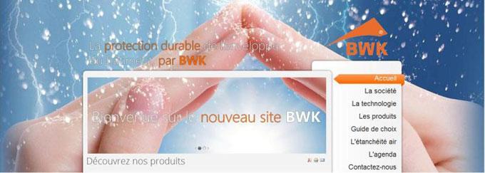 BWK, vous présente son nouveau site  - Batiweb