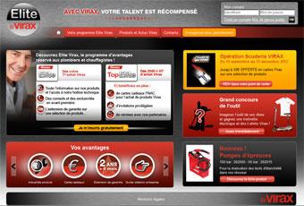 Elite Virax : le programme de fidélité créé spécialement pour les PLOMBIERS et les CHAUFFAGISTES. Batiweb