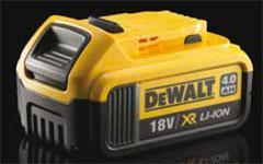 DEWALT - Nouvelle batterie 4Ah en vidéo ! - Batiweb