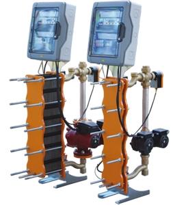 Nouvel échangeur à plaques pour les basses températures : Module HETA Batiweb