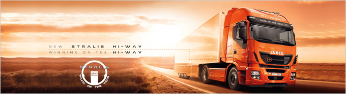 "Le nouveau STRALIS HI-WAY IVECO  élu ""Truck of the year 2013"" - Batiweb"