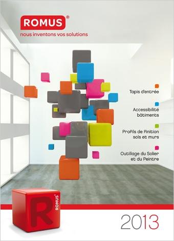 Découvrez le nouveau catalogue des produits Romus !