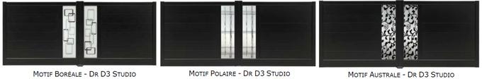 Les portails aluminium VENDÔME s'offrent de nouveaux designs