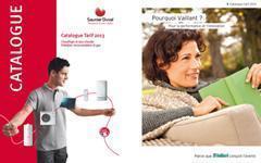 Le catalogue Saunier Duval  2013 est à présent disponible