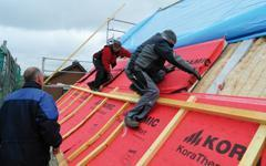 Comfort de Koramic, la solution pour l'isolation des toitures par l'extérieur
