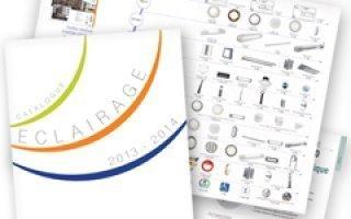 Nouveau catalogue SARLAM 2013-2014 : solutions d'éclairage pour les parties communes