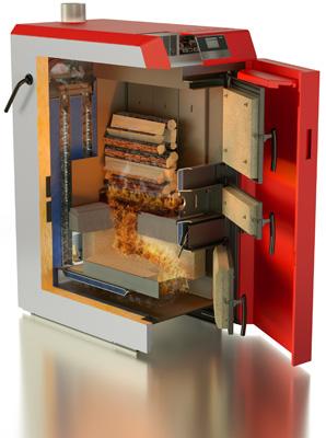 Windhager développe sa gamme de chaudières bois à gazéification : Flexible, robuste et économique – la nouvelle LogWIN Klassik