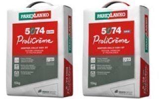5074 Prolicrème : Le mortier-colle polyvalent hautes performances à texture crémeuse Batiweb