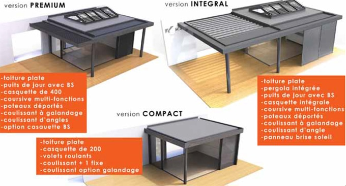 Innovation pour l'habitat Extens'K : Les nouveaux espaces à vivre modulaires KAWNEER - Batiweb