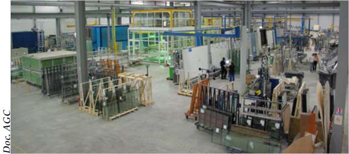 AGC Vertal Ile-de-France : la transformation du verre au service des professionnels - Batiweb