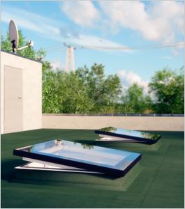 La fenêtre de toit plat illumine votre intérieur - Batiweb