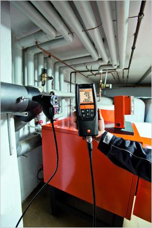 TESTO 320 analyseur de combustion multifonctions pour les pros de la maintenance - Batiweb