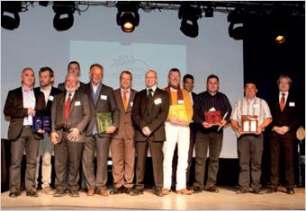 9e édition des Trophées Aléonard : Consécration de l'excellence et du savoir-faire des couvreurs