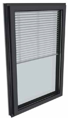 Kalory R : fenêtre et porte-fenêtre respirante à ouvrant visible