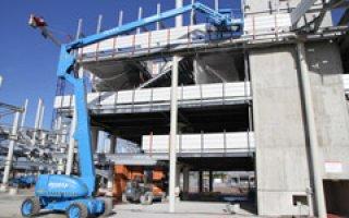 ACCES INDUSTRIE présent sur le chantier du nouveau stade de Bordeaux