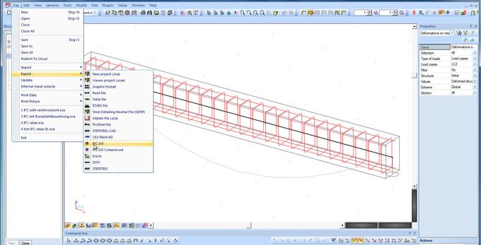 Solution BIM Allplan 2014 Ingénierie avec plans de coffrage et de ferraillage améliorés - Batiweb