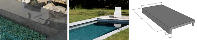 Rouvière Collection propose des fabrications sur mesure de margelles de piscine et dallages - Batiweb
